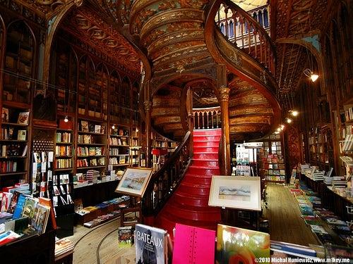 LaLibrería Lello e Irmão en Oporto, la librería más bonita del mundo