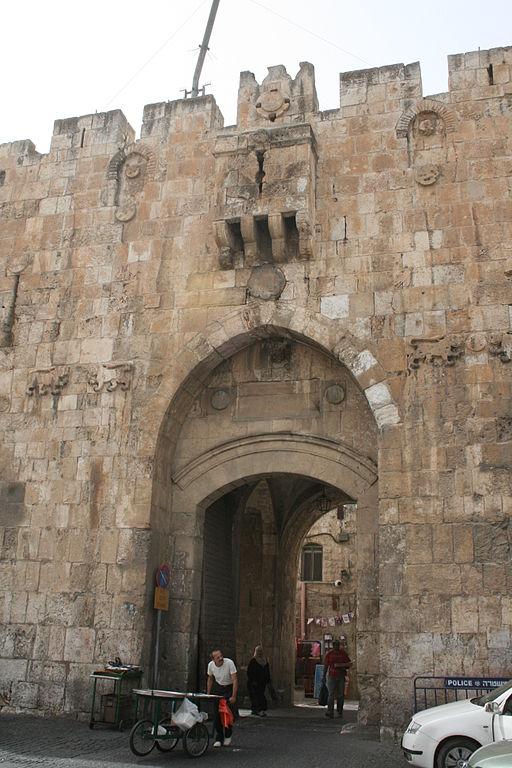 puerta de los leones, jerusalen