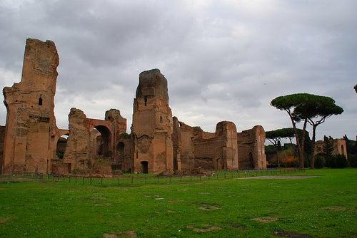 Las espectaculares Termas de Caracalla en Roma