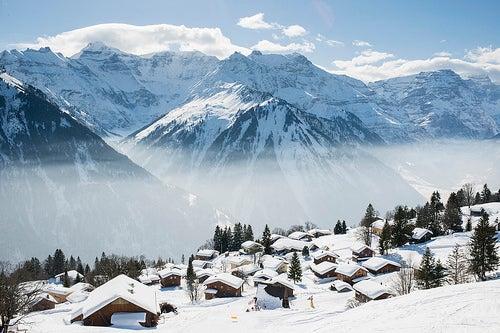 La gran aventura de explorar Braunwald en Suiza