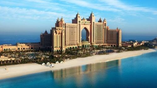 El impresionante Hotel Atlantis en Dubái