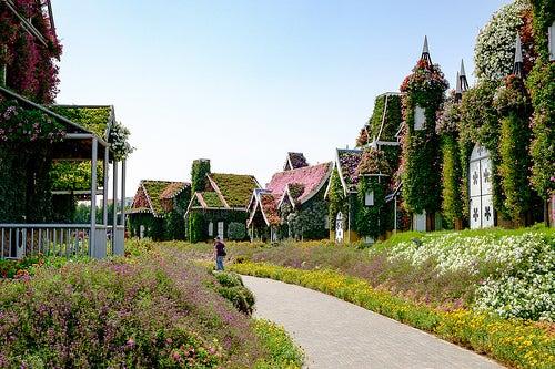 El espectacular jardín en Dubái llamado Miracle Garden