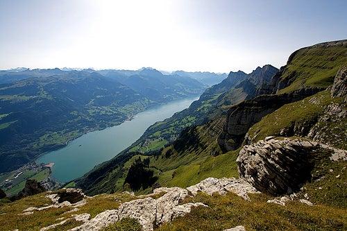 Walensee, un hermoso lago de Suiza