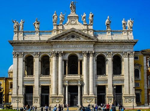 La Archibasílica de San Juan de Letrán en Roma, la madre de todas las Iglesias