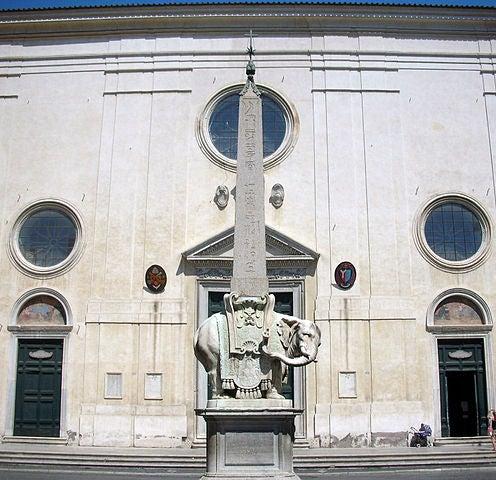 obelisco della minerva 2