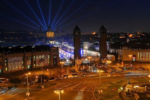 plaza de españa en barcelona 2