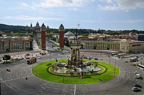 plaza de españa en barcelona 4