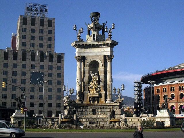 plaza de españa en barcelona 5