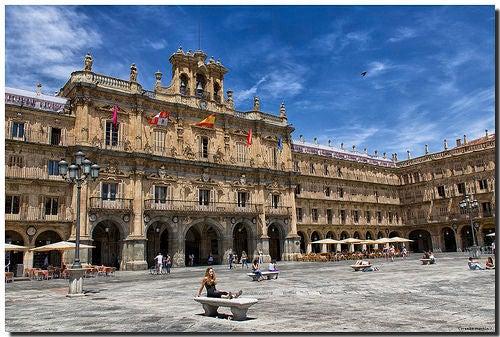 La Plaza Mayor de Salamanca, una de las más espectaculares de España