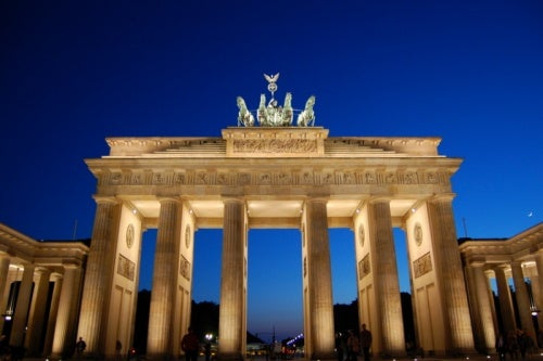 La Puerta de Brandeburgo en Berlín, el símbolo de toda una nación