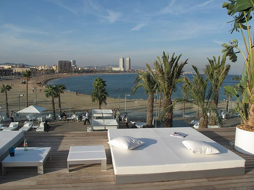tu boda en el hotel w de barcelona