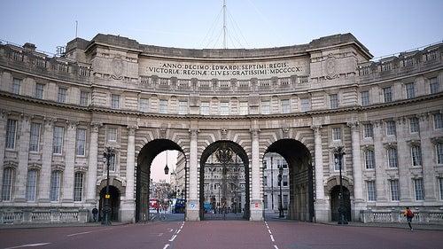 El Admiralty Arch en Londres, el hermoso conjunto monumental de la curiosa nariz