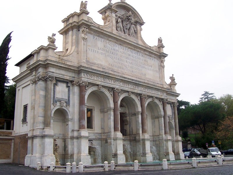 Fontana dell'Acqua Paola 2