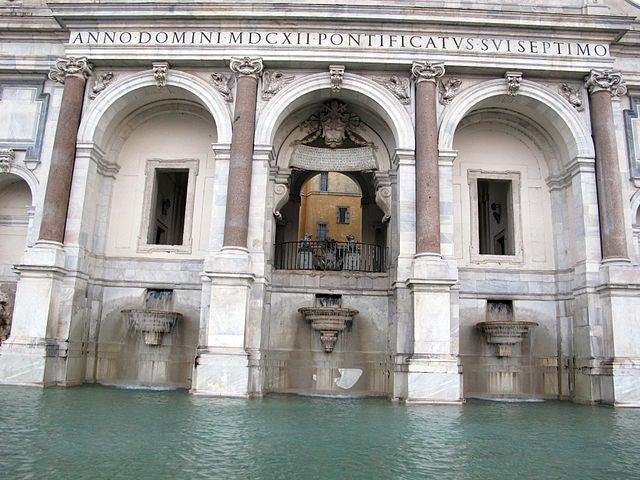 Fontana dell'Acqua Paola 3