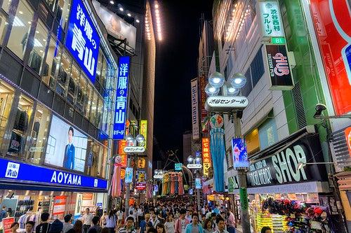 Las 3 zonas más vibrantes de Tokio