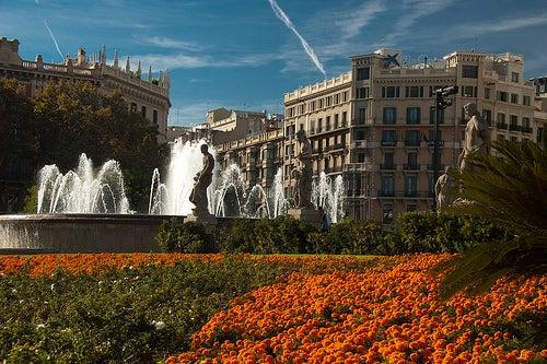 la plaza de cataluña 2
