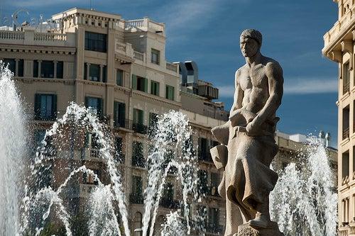 la plaza de cataluña 4