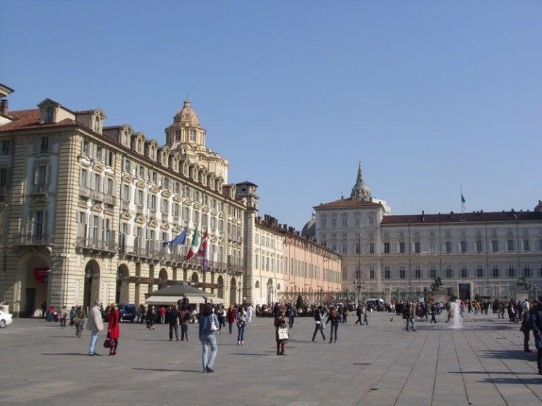 La espectacular Piazza Castello de Turín, un lugar que no te puedes perder