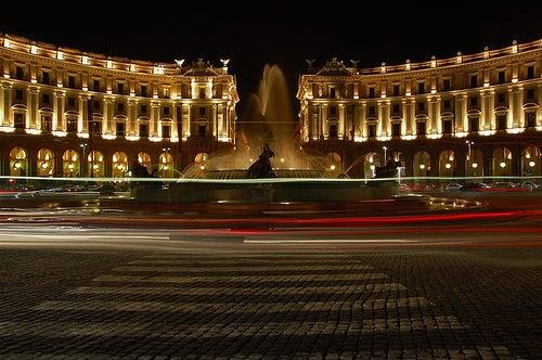 Recorremos la espectacular plaza de la República de Florencia