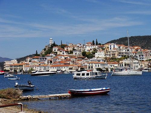 La fantástica Poros en Grecia, la isla de Poseidón