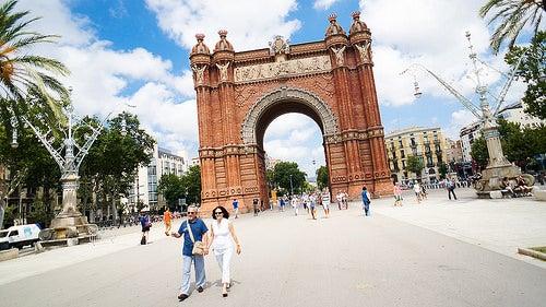 arco de triunfo de barcelona 2