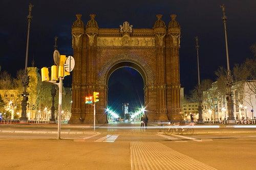 arco de triunfo de barcelona 3
