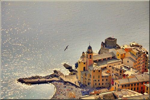 Visita Camogli, uno de los más bellos pueblos de la costa de Italia