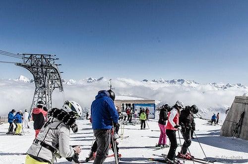 4 lugares fantásticos para esquiar