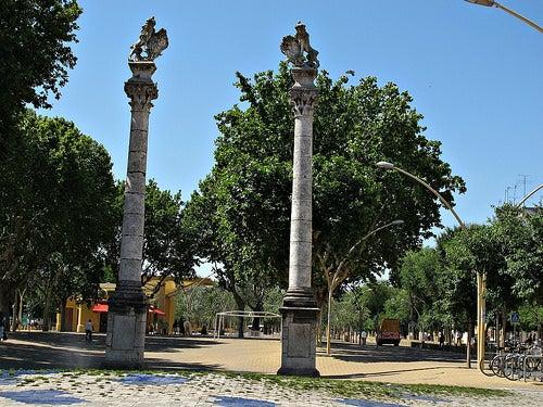 La Alameda de Hércules de Sevilla, el primer parque público de Europa