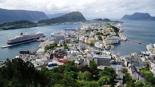 Top 4 para disfrutar de Alesund en Noruega