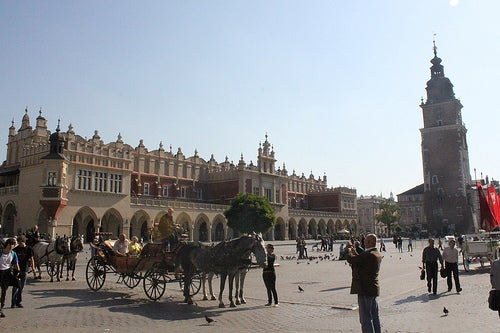 Cracovia en Polonia 2