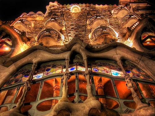 La Casa Batlló en Barcelona, la obra más creativa del genial Gaudí