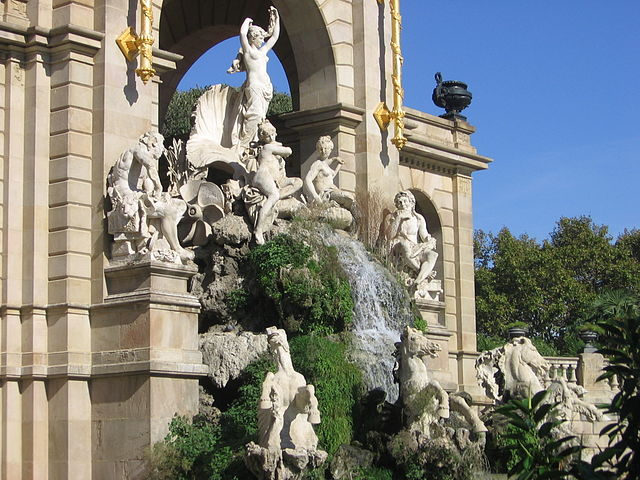 gran cascada de barcelona 6