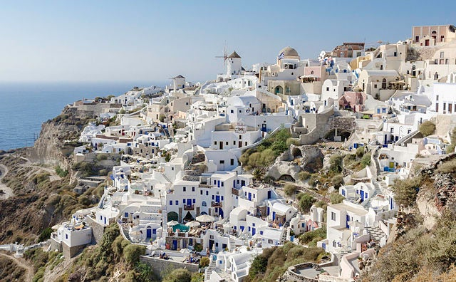 Maravillosos paisajes de las islas griegas