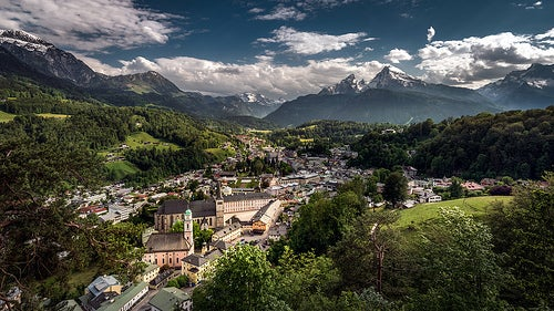 La belleza de Berchtesgaden en Alemania