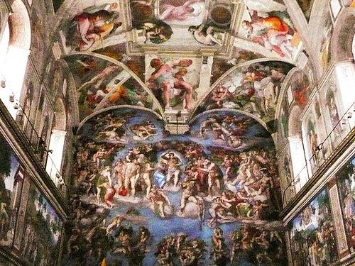 capilla-sixtina-de migel ángel