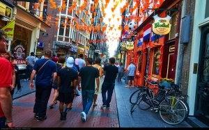 Nos vamos de fiesta por Ámsterdam