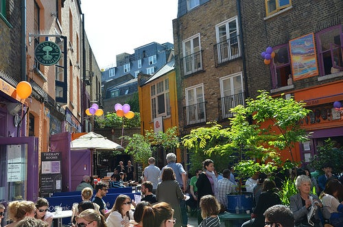Neal's Yard - London, May 2011
