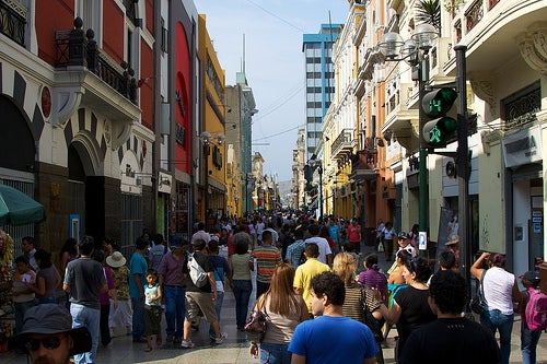 Déjate atrapar por las ciudades de Perú