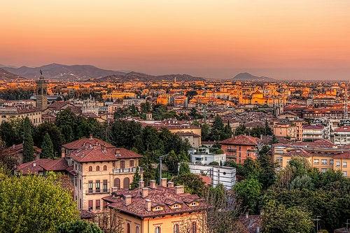 Bérgamo, una preciosa ciudad medieval italiana