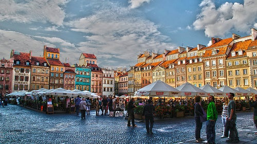 3 ciudades de Polonia definitivamente hermosas