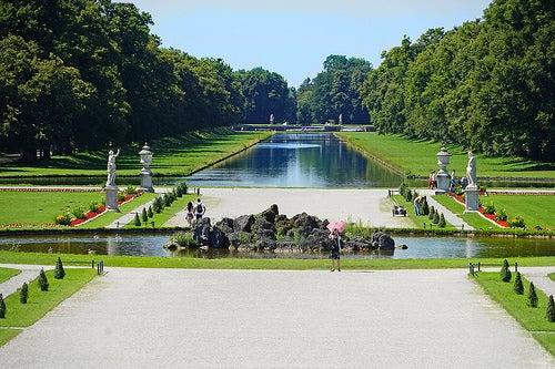 Jardines del palacio nymphenburg