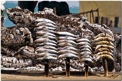 Espetos de sardinas en malaga