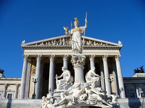 Viena es uno de los preciosos lugares de austria