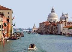 Viaje a venecia por el gran canal