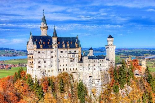 Entre castillos y palacios de Alemania: 4 espectaculares