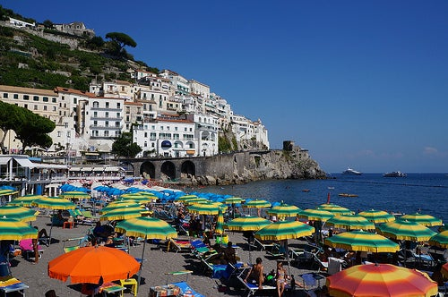Mejores playas de la costa amalfitana 2