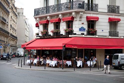 Cafe le saint-germain