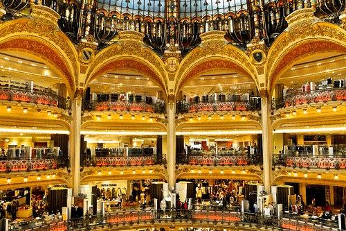 Almacenes y centros comerciales
