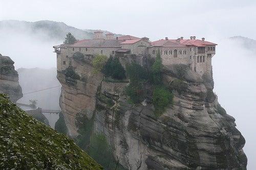 Los monasterios de Meteora: místicos e impresionantes